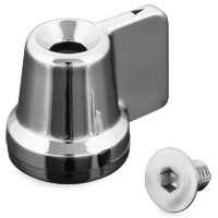 Show Chrome Accessories Fuel Shut Off Knob