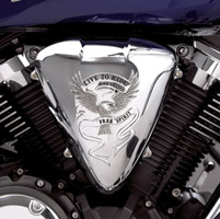 Show Chrome Accessories Air Cleaner Cover
