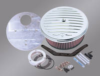 Arlen Ness Grooved Big Sucker Air Cleaner Kit