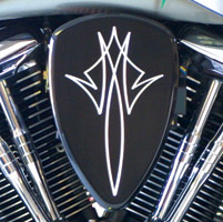 Baron Custom Accessories Big Air Kit Black Pinstripe