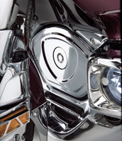 Show Chrome Accessories Chrome Timing Cover for Gold Wing