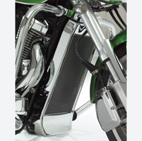 Show Chrome Accessories Chrome Radiator Grille for VTX1300