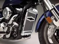 Show Chrome Accessories Celestar Radiator Grille for Suzuki VZ1600/M95