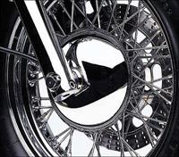 Cobra Front Wheel Hub Cover