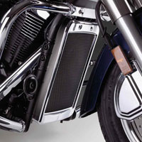 Show Chrome Accessories Mesh Radiator Grille for Yamaha V-Star 1300