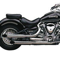Cobra Slashcut Slip On Mufflers