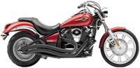 Cobra Speedster Swept Exhaust Black