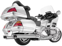 Cobra Tri-Oval Slip-on Mufflers for Honda GL1800