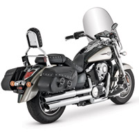 Vance & Hines Big Shots Staggered Exhaust System for Vulcan 1700