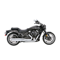 Vance & Hines Big Shots Staggered Chrome