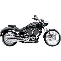 SuperTrapp Fatshot 2-into-2 Slip-On Mufflers for Victory