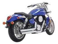 Vance & Hines Big Shots Staggered Exhaust System for 1600 Mean streak, Marauder VZ1600 & M95