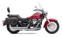 Cobra Speedster Slash Down Exhaust System  for Kawasaki VN900