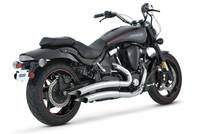Vance & Hines Big Radius 2 into 2 Exhaust with Power Chamber