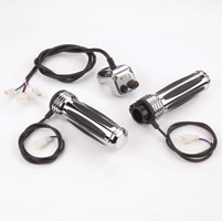 Show Chrome Accessories Show Chrome Heated Grips with Standard Controller for 1