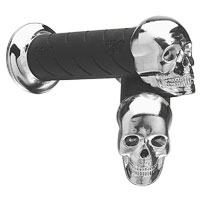 PROGRIP 7/8″ Skull Cruiser Grip Set