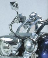 Rivco Chrome VTX Handlebar Risers for VTX1800R/S