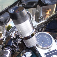 Roadrunner Hot Or Cold Bike Cup for Gold Wing and Metric Controls