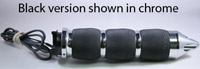 Avon Grips Black Spike Air Cushion Heated Grips for Metric Cruisers and Victory