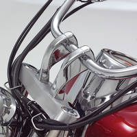 Show Chrome Accessories 4″ Twisted Riser Set