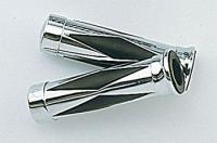 Show Chrome Accessories Diamond Grips for 1″ Bars