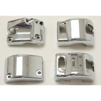 Show Chrome Accessories Chrome Switch Housing Set