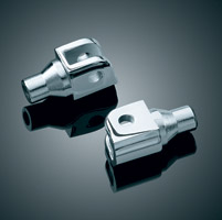 Kuryakyn Chrome Tapered Footpeg Adapters
