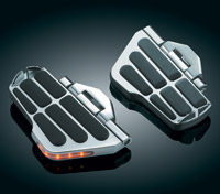 Kuryakyn Ergo II Cruise Mounts with Lighted Cruise Boards