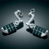 Kuryakyn Dually Highway Pegs and 1″ Magnum Quick Clamps