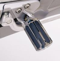 Show Chrome Accessories Rail Style Footpegs