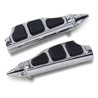Kuryakyn Chrome Stiletto Footpegs without Adapter