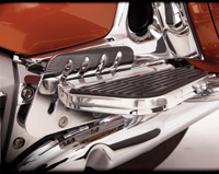 Show Chrome Accessories Passenger Floorboard Risers