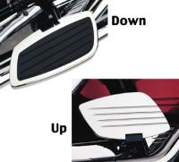 Cobra Swept Passenger Floorboard Kit for Kawasaki