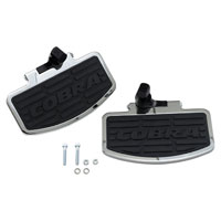 Cobra Classic Chrome Passenger Floorboards