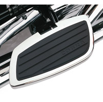 Cobra Swept Chrome Passenger Floorboards