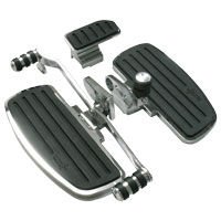 Rivco Premium Billet Driver Floorboards with Shifter Peg