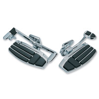 Kuryakyn Chrome Driver Floorboard Kit