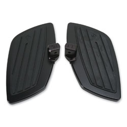 Cobra Swept Black Passenger Floorboard Kit