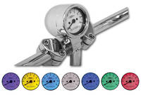 Baron Custom Accessories 7-Color LED Bullet Tachometer