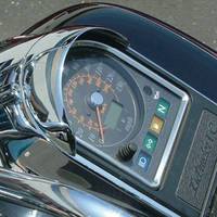 National Cycle Chrome Speedometer Cowl