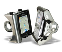 Marlin's Gator Cell Phone or GPS Mount for 7/8″ to 1″ Handlebars