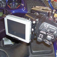 eCaddy Deluxe Garmin Nuvi 800 Series Mounting Kit for Gold Wing