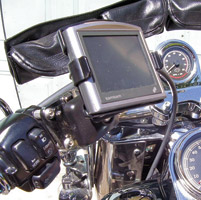 eCaddy Deluxe TomTom One Mounting Kit for Honda Gold Wing