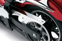 Cobra Upper Drive Belt Guard Chrome