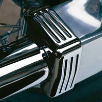 Cobra Drive Shaft Bolts Cover Chrome Fluted