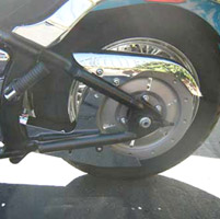 California Custom Cruisers Lower Belt Guard