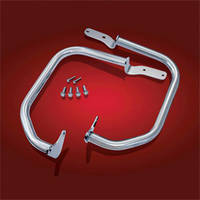 Show Chrome Accessories Wide Front Highway Bar