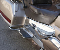 J&P Cycles® Chrome Rear Side Covers for GL1500 Gold Wing