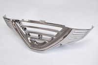Add On Chrome Lower Front Cowl for Honda GL1500