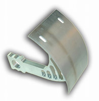 Yana Shiki Vertical Polished Swingarm License Plate Bracket